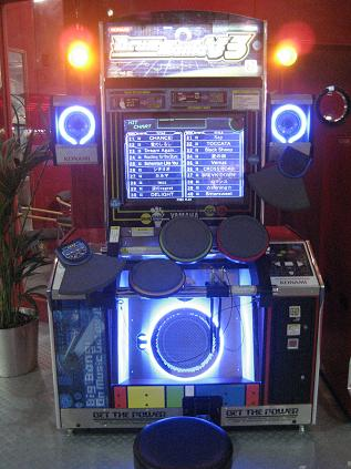 Arcade Heroes SPoNG's May 2007 arcade report - Motion based and