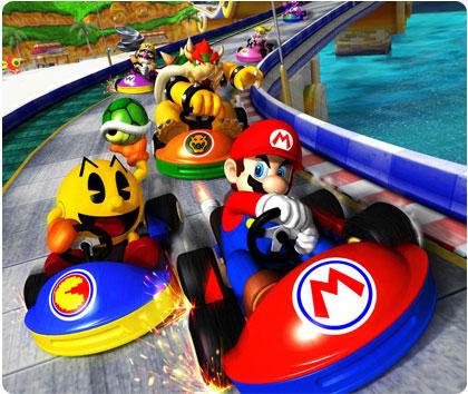 Τα groups στο τουρνουά Mario-kart-arcade-gp