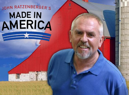 John Ratzenberger's Made in America logo