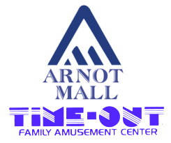 Arnot Mall Time-Out Logo