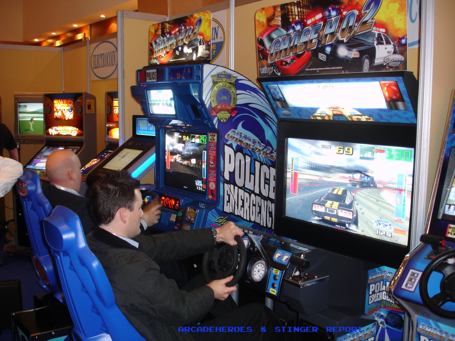 1942 Arcade Cabinet Chase Hq 2 Arcade Heroes