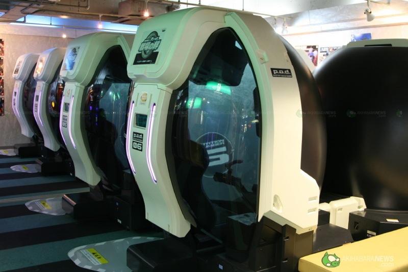 arcade heroes panoramic mech simulator arcades in japan. Black Bedroom Furniture Sets. Home Design Ideas
