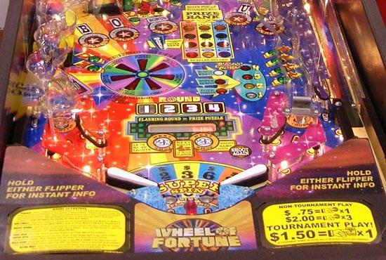WOF pinball super kit Stern Wheel of Fortune