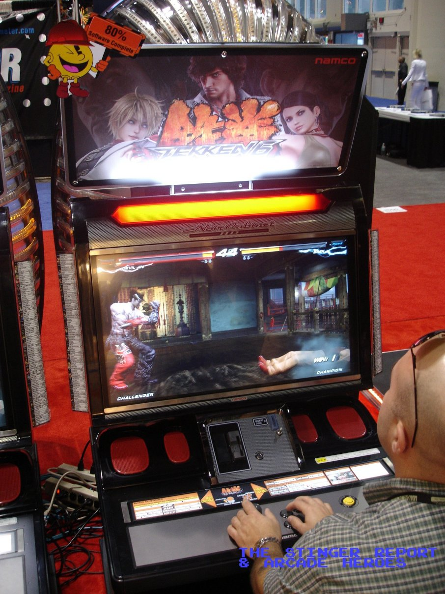 [Discuss on the Forum] & Arcade Heroes Exclusive - First Tekken 6 test location shots in US ...