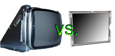 Arcade Heroes CRT or LCD? A Discussion About Arcade Monitors