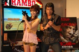 Hiroshi Fujioka demands that you play Rambo