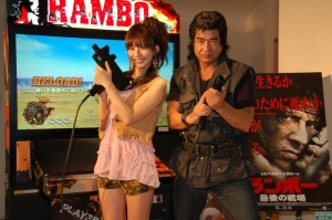 Hiroshi Fujioka demands that you play Rambo
