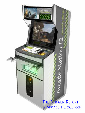 halo arcade machine