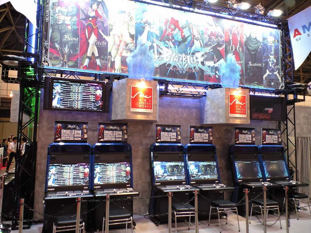 More stuff from the 46th AM show: Tatsunoko Vs Capcom, BlazBlue ...