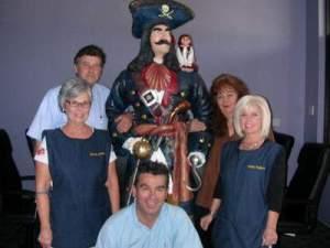 Employees of 'Pirates Treasure'