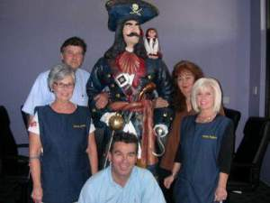 Employees of 'Pirates Treasure'