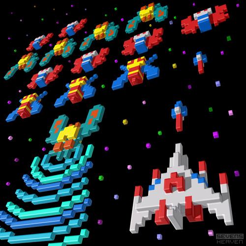 3d-pixel-illustratie-voxel-illustration_namco-galaga-8-bit-game