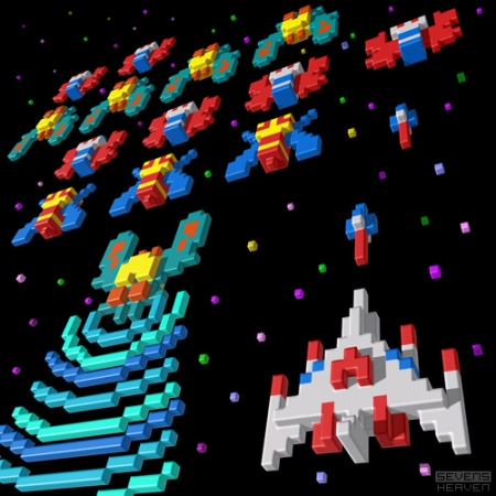 3d-pixel-illustratie-voxel-illustration_namco-galaga-8-bit-game
