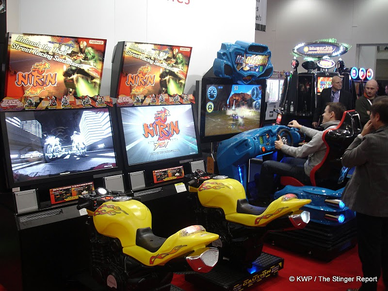 First Pics From The Big Arcade Show In London Called Eag