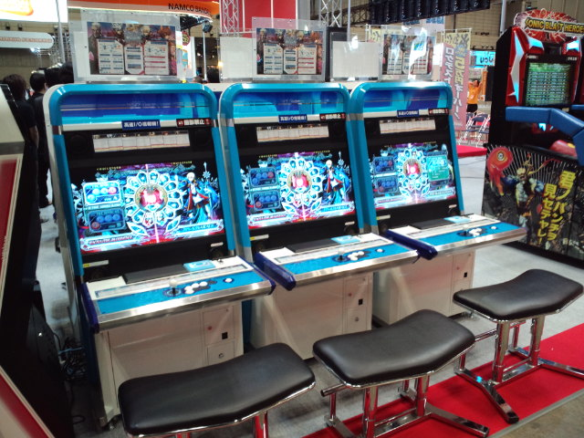 Arcade Heroes JAMMA 2010: New games, hardware and ideas that could ...